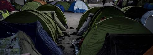 Le retour des campements de migrants à Paris