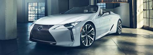 Lexus LC Convertible Concept, le deuxième élément
