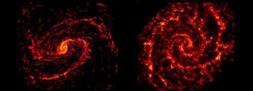 Les astronomes dévoilent les entrailles invisibles des galaxies