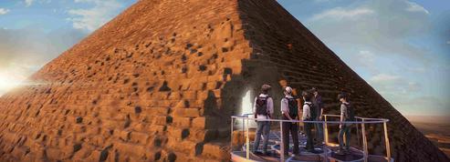 Voir la pyramide de Khéops sans quitter Paris