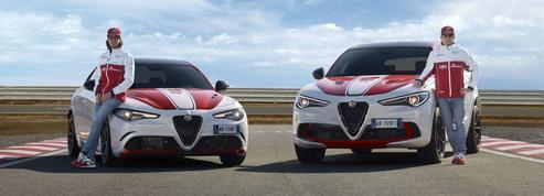 Giulia et Stelvio «Alfa Romeo Racing», des familiales de Grand Prix