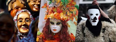 Les masques de carnaval qui nous ont séduits