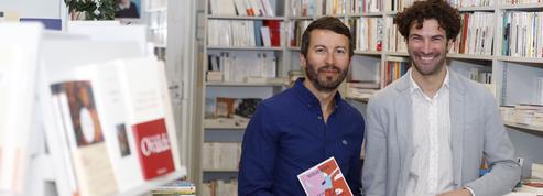 Nicolas Robin etOlivier Gallais à la Librairie Idéale