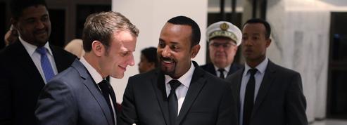 Macron veut rapprocher la France de l'Éthiopie