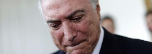 Brésil: l'ex-président Michel Temer tombe à son tour