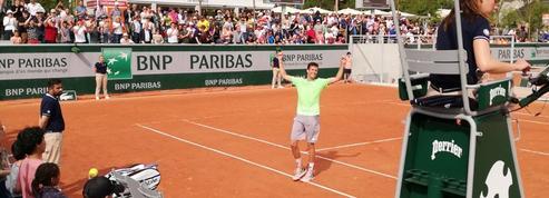 En deux matches à Roland-Garros, ce Français empoche plus d'argent que durant toute sa carrière