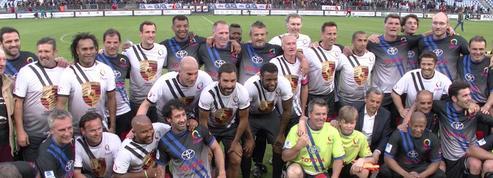 Zidane, Deschamps, Chabal, Dusautoir...pour un match de charité à Bordeaux