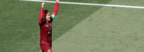 L'émotion des Thaïlandaises pour leur premier but en Coupe du monde