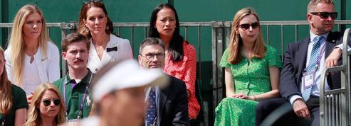 Wimbledon: Kate Middleton en visite surprise sur un court annexe