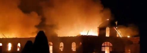Equitation: le haras national de Saint-Lô ravagé par un incendie