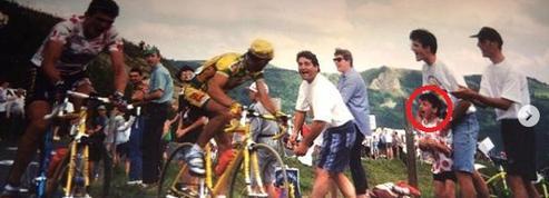 Tour de France: quand Bardet encourageait le maillot à pois Virenque sur les routes du Tour