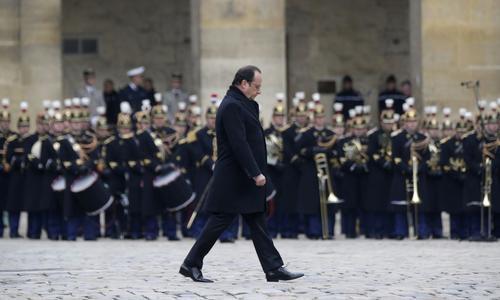 Les passages forts de l'hommage de François Hollande aux victimes