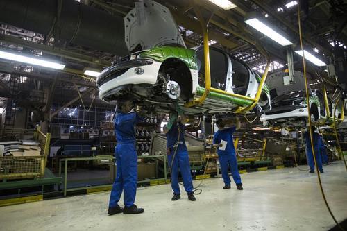 L'usine Peugeot de Khodro, près de Téhéran, en 2016.