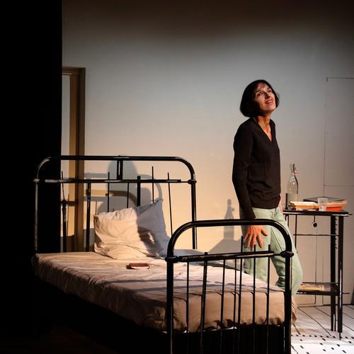 Christine Culerier est une Françoise Sagan très intime au Studio Hébertot.