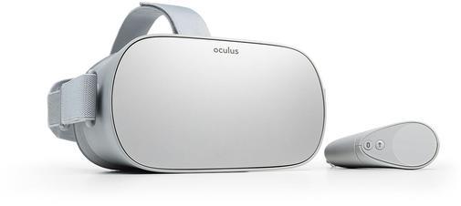 L'Oculus Go adopte un design minimaliste.