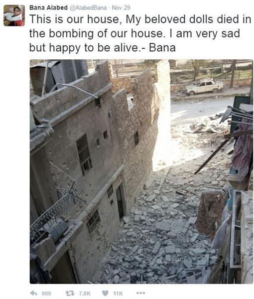 «C'est notre maison», peut-on lire sur le message accompagnant cette photo.