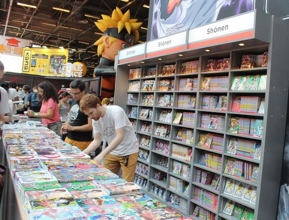 La France est le 2e marché pour les mangas après le Japon.