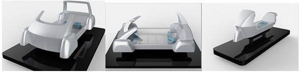 Il s'agit encore d'un concept, mais Panasonic veut déjà se positionner sur l'automobile du futur.