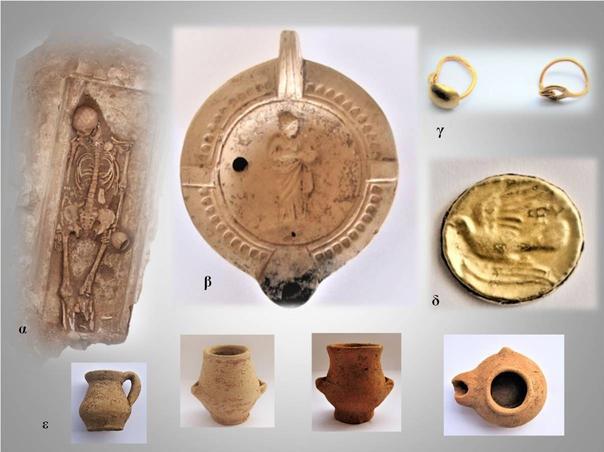 La ville avait des styles de poterie bien distincts marqués par des influences orientales.