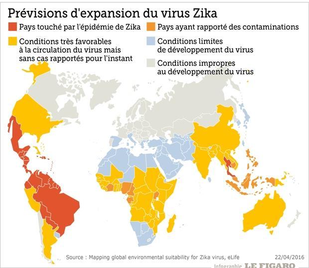 Birmanie Carte Regions.Ou Va Le Virus Zika