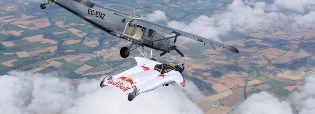 Un vol des Soul Flyers en Espagne.
