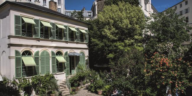 Le Musée delavie romantique (Paris IXe).