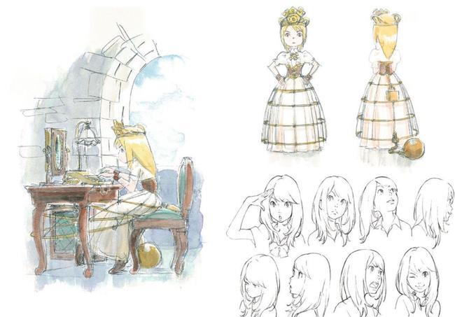 Le travail de préparation de Satoko Morikawa, responsable du design des personnages est époustouflant