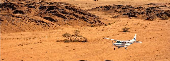 La Namibie en safari aérien : voyage austral