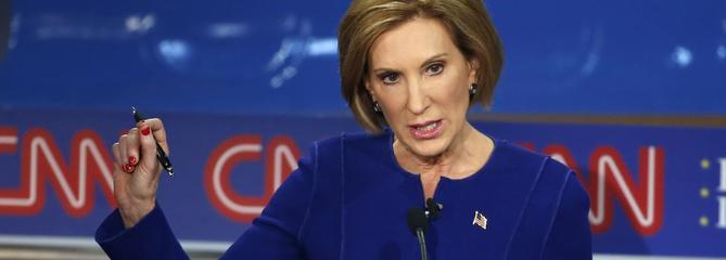 Carly Fiorina, grande gagnante du deuxième débat républicain