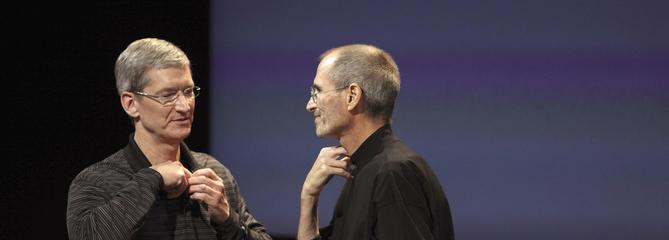 De Steve Jobs à Tim Cook, retour sur 40 ans d'histoire d'Apple