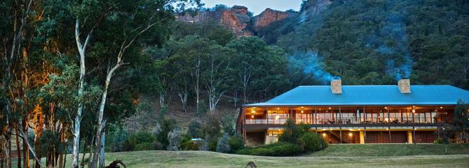 En Australie, un hôtel 100% nature au coeur des Blue Mountains