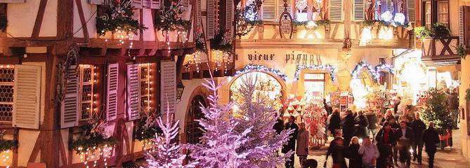 Rendez-vous aux cinq marchés de Noël de Colmar