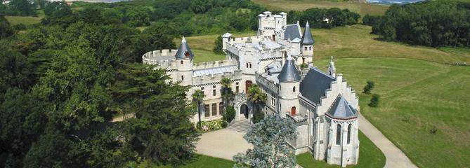 À Hendaye, le château Abbadia
