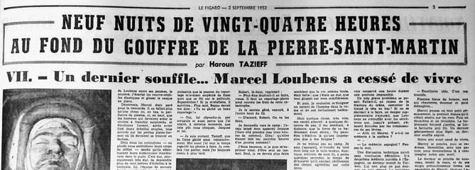 Un dernier souffle... Marcel Loubens a cessé de vivre