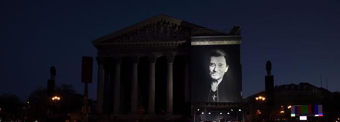 Un lieu emblématique de Paris prochainement baptisé «Johnny Hallyday»