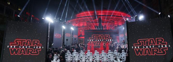 Box-office américain: démarrage en trombe pour Star Wars