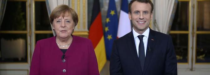 Macron et Merkel pour «approfondir encore» la coopération franco-allemande