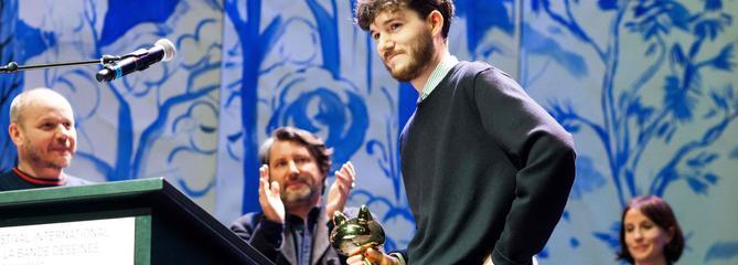 Qui est Jérémie Moreau, le jeune auteur deLaSaga de Grimr, Fauve d'or d'Angoulême?