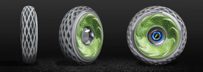 Goodyear réinvente le pneu vert