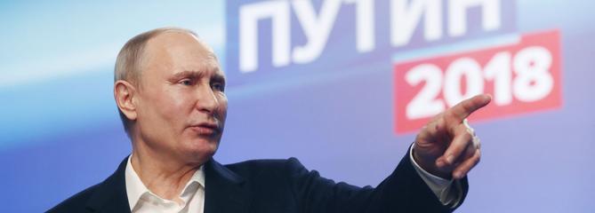 Poutine triomphant et plus autocrate que jamais