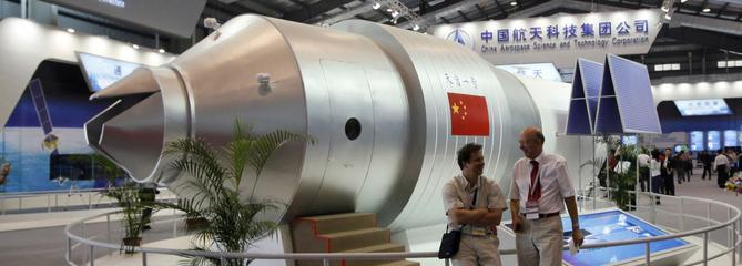 La station spatiale chinoise a brûlé au-dessus du Pacifique