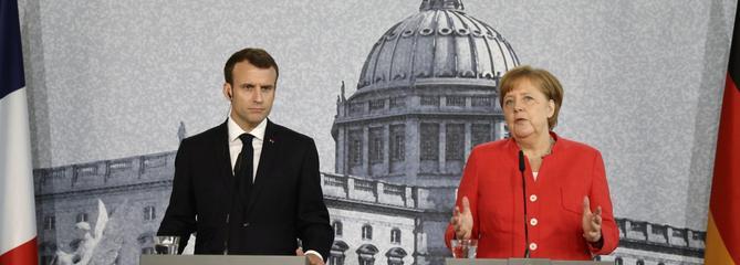 Merkel et Macron tentent de ranimer la magie franco-allemande