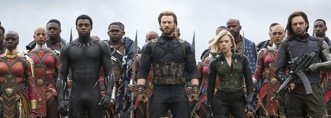 Avengers: Infinity War bascule dans l'âge adulte