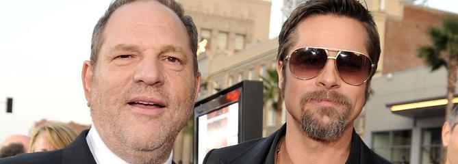 Brad Pitt va produire un film sur l'enquête qui a fait tomber Harvey Weinstein