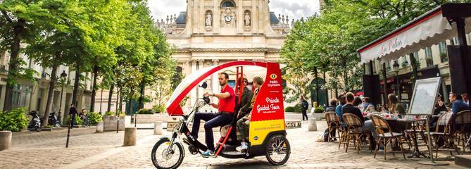 Le coeur de Paris en cyclo-pousse