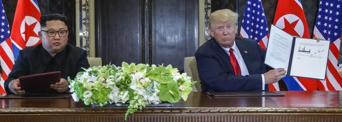 Sommet de Singapour : que contient l'accord Trump-Kim?