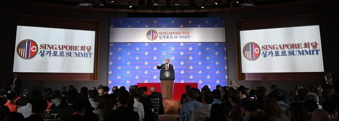 Sommet Trump-Kim: «La guerre de Corée a-t-elle pris fin?», s'interroge la presse internationale