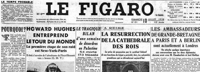 10 juillet 1938: Howard Hughes s'envole pour un tour du monde en trois jours