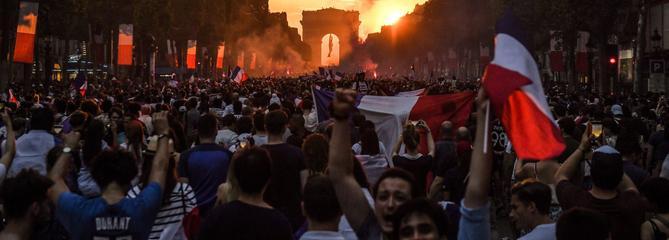 «Le Mondial, moment de patriotisme hédoniste et d'exubérance émotionnelle»