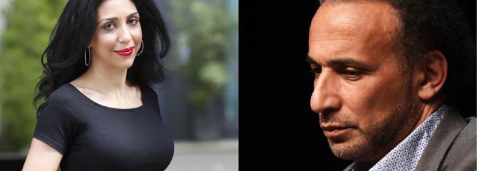 Tariq Ramadan confronté pour la première fois à Henda Ayari, une de ses accusatrices